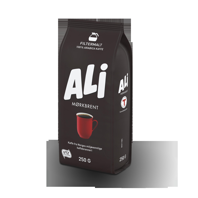 ALI Kaffe mørkbrent filtermalt
