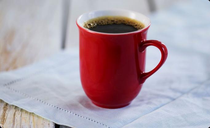 Rød ALI kaffekopp