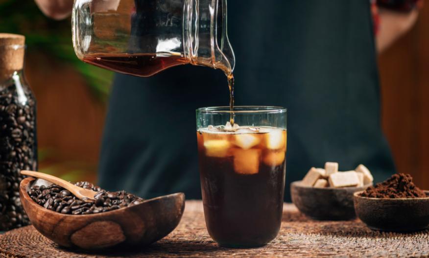 Kaldbrygget kaffe