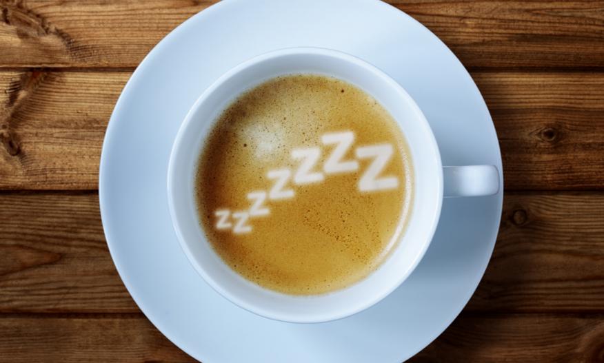 Kaffeskum med Zzzz