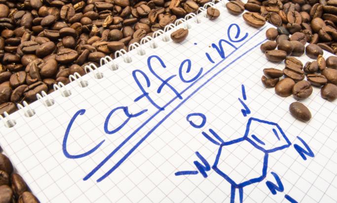 Illustrasjon koffein