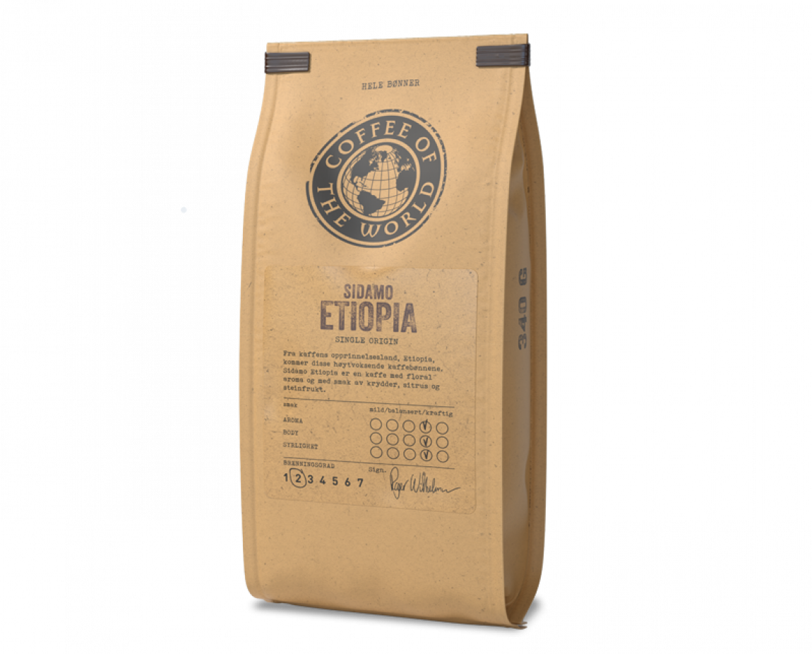 COTW Sidamo Etiopia kaffepose