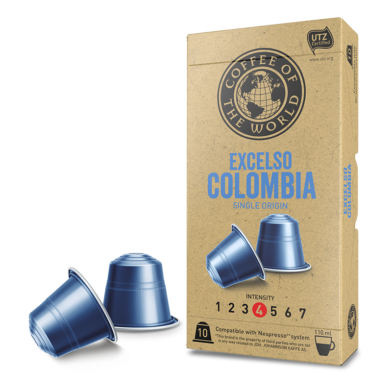 COTW Excelso Colombia kapsler