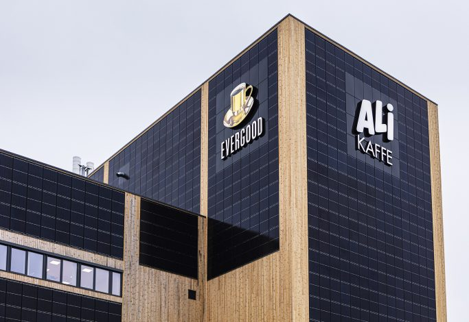 Joh Johannson Kaffe ny fabrikk Vestby
