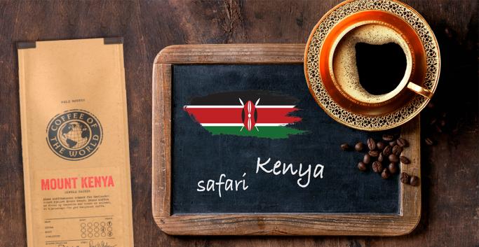 Mount Kenya kaffe