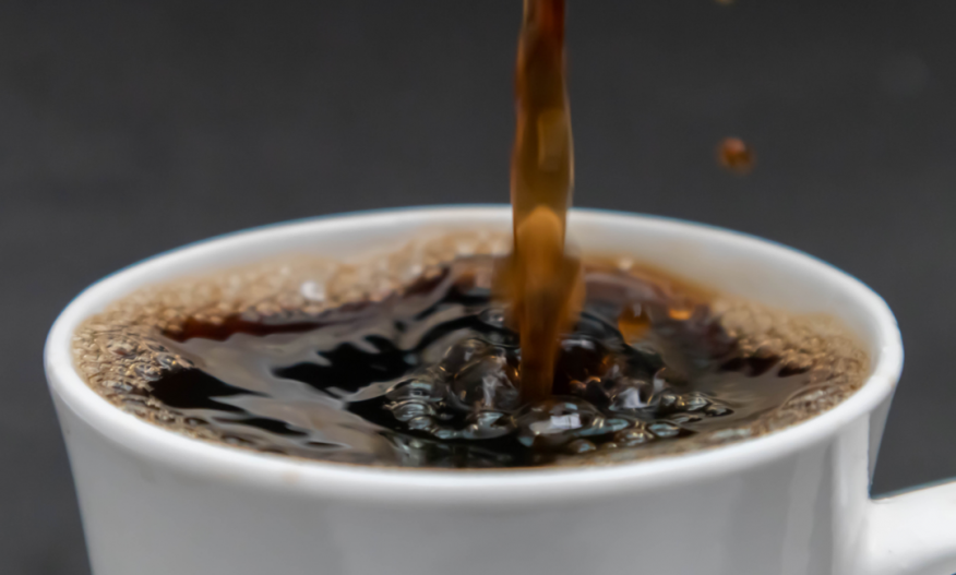 Kaffe helles i kopp