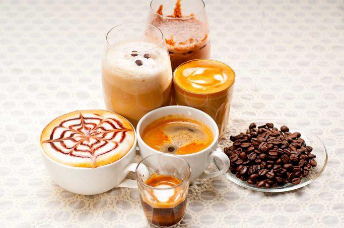 Typer kaffedrikker