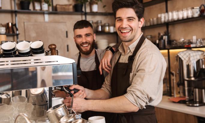 To glade baristaer