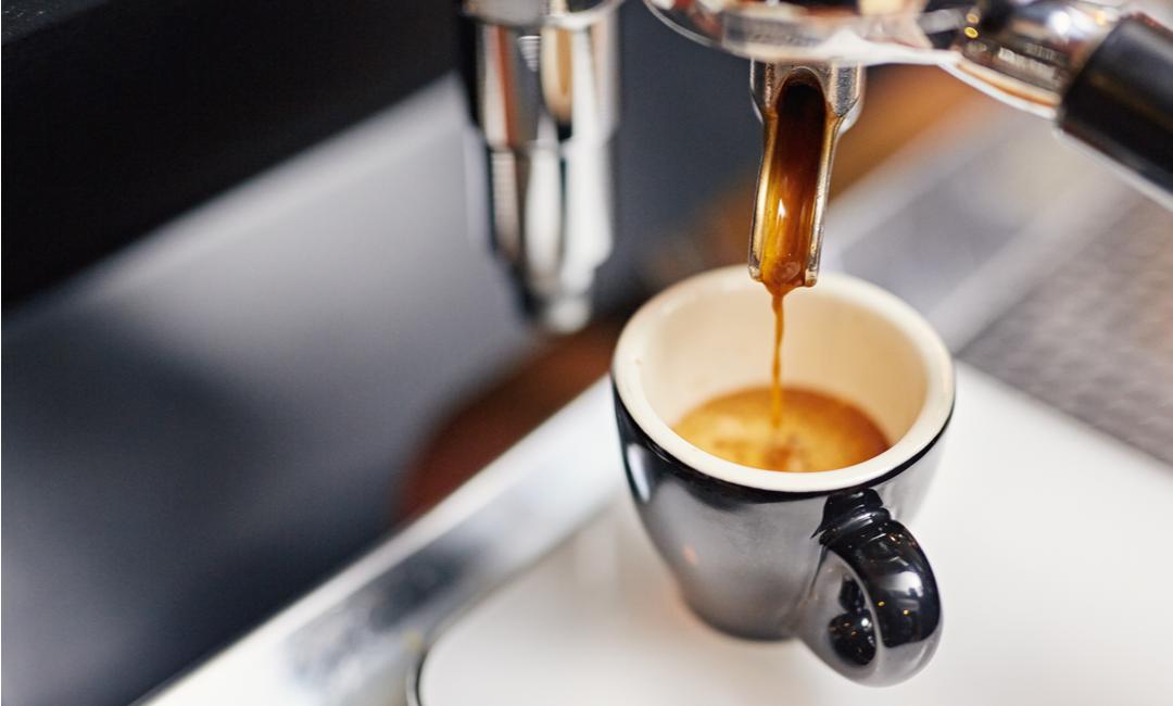 En kopp espresso