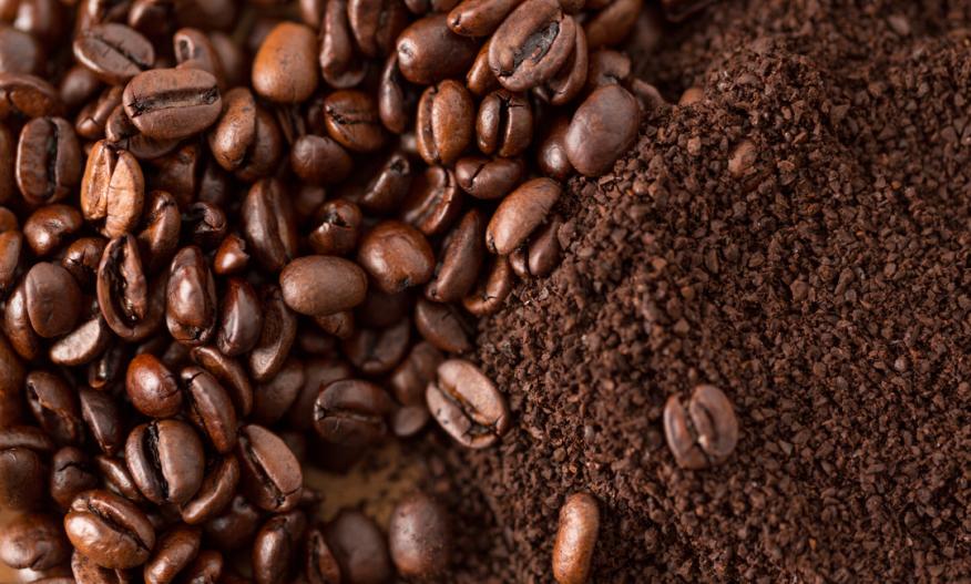Kaffe ferskvare filtermalt hele bønner