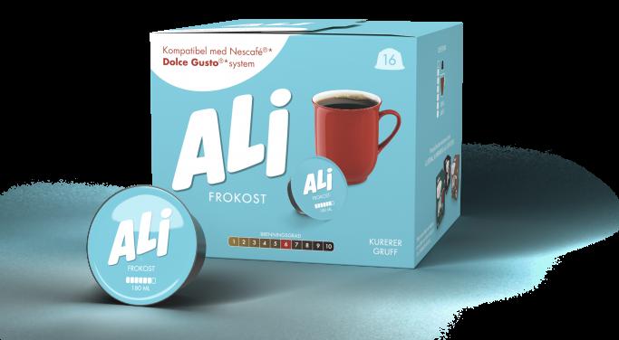 Ali Kaffe Frokost kapsel