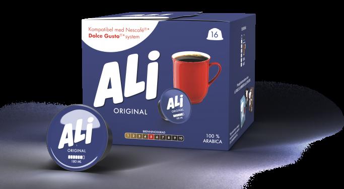 Ali Kaffe original kapsel