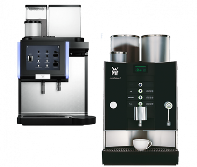 Helautomatisk filterkaffemaskin