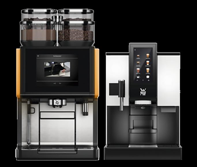 Helautomatisk kaffe/espressomaskin