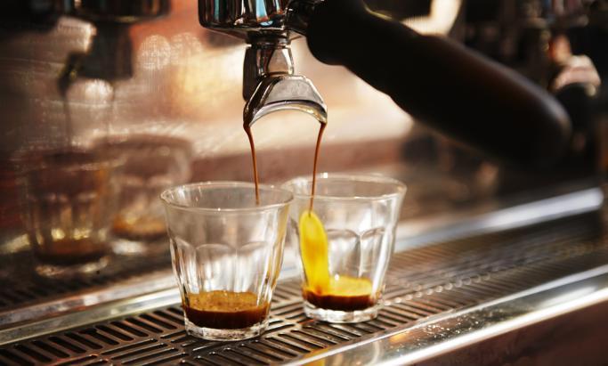 baristamaskin lager espresso