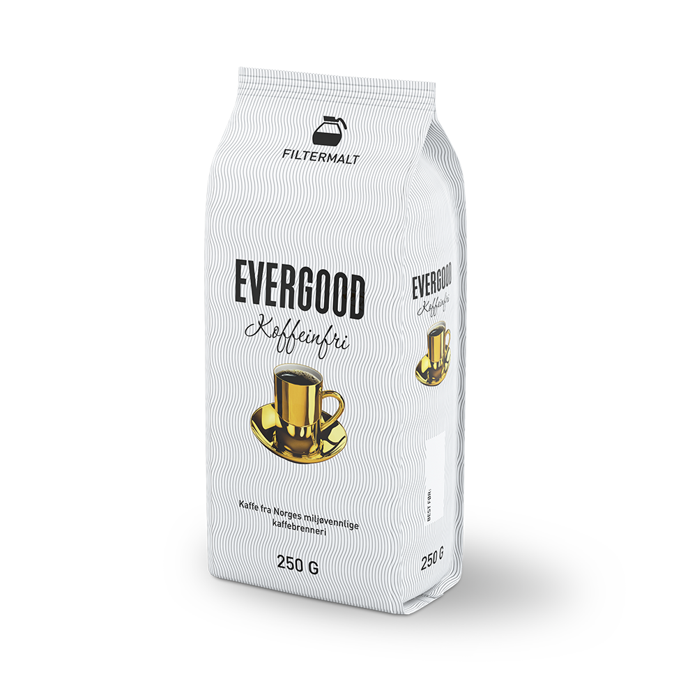 Evergood Koffeinfri kaffepose