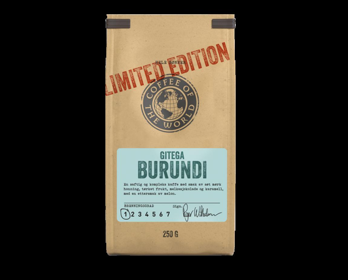 Kaffe fra Gitega Burundi