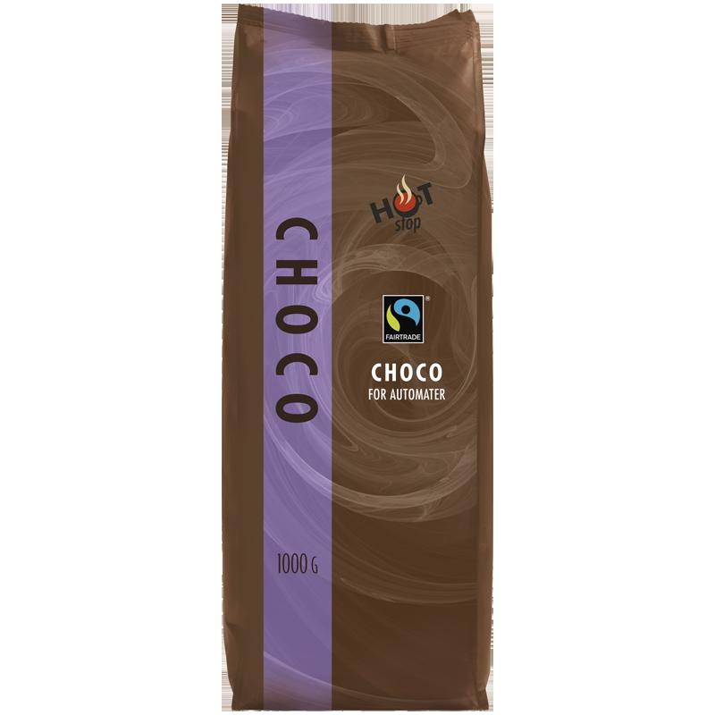 Hot Stop Fairtrade Sjokolade 1000g