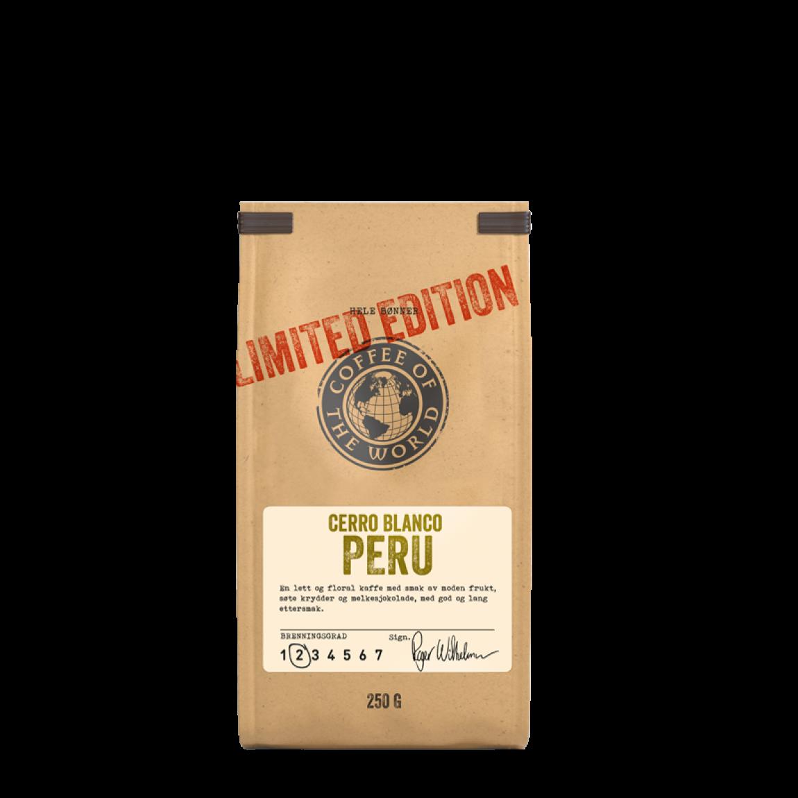 COTW Limited Edition Cerro Blanco Peru