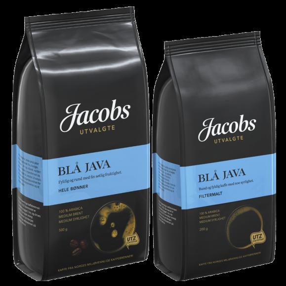 Jacobs Utvalgte Blå Java kaffe