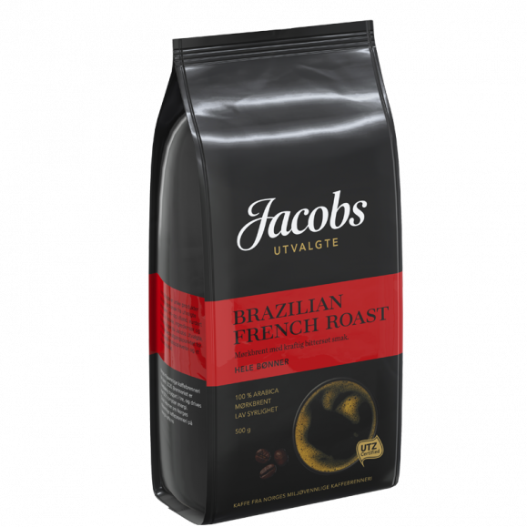 Jacobs Utvalgte Brazilian French Roast kaffe