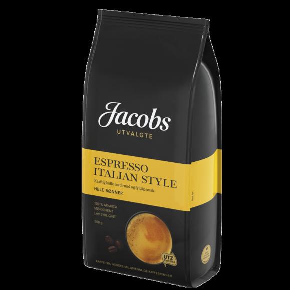 Jacobs Utvalgte Espresso Italian Style kaffe