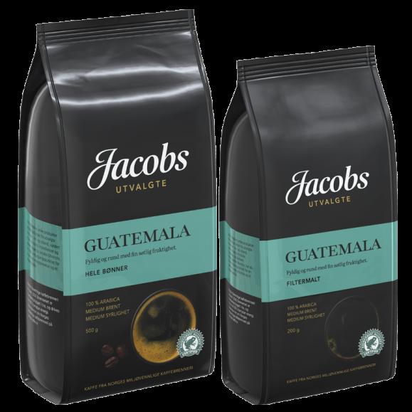 Jacobs Utvalgte Guatemala kaffe
