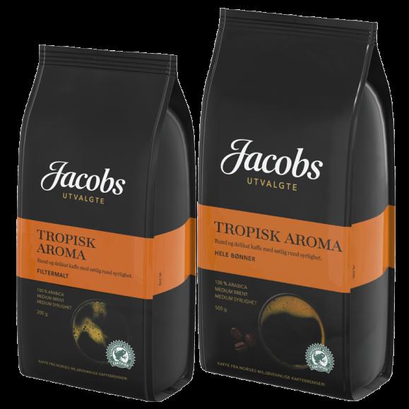 Jacobs Utvalgte Tropisk Aroma kaffe
